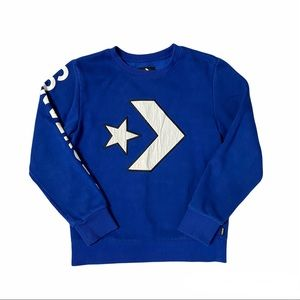 CONVERSE Boy's Pullover Sweatshirt Size M 10-12 Yrs